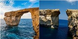 Cổng trời Azure Window nổi tiếng thế giới bất ngờ đổ sập xuống biển