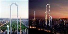 Ngỡ ngàng trước thiết kế lạ của tòa nhà không có đối thủ về chiều cao