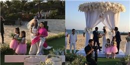 yan.vn - tin sao, ngôi sao - Độc quyền: Toàn cảnh đám cưới lãng mạn của Nguyệt Ánh trên bãi biển