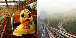 Rùng mình chứng kiến khu công viên bỏ hoang đáng sợ nhất Hàn Quốc