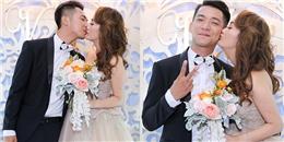yan.vn - tin sao, ngôi sao - Mai Quốc Việt liên tục hôn bà xã thắm thiết trước khi vào tiệc cưới