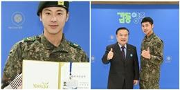 yan.vn - tin sao, ngôi sao - Thành tích đáng kinh ngạc trong quân đội của Trung Sĩ Jung Yunho