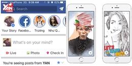 Facebook ra mắt tính năng Story mới giống với Instagram và Snapchat