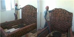 Bất ngờ nguyên nhân người đàn ông xây 'lăng mộ' trong chính nhà mình?