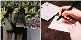 Rơi nước mắt bức thư gửi bạn gái thiệt mạng trong thảm kịch Sewol