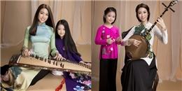 Đỗ Mỹ Linh và nghệ sĩ nhí duyên dáng với trang phục truyền thống