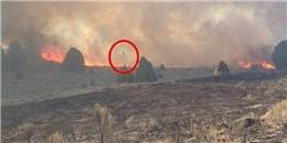 Xôn xao bức ảnh 'bóng ma' rõ như ban ngày xuất hiện trong đám cháy