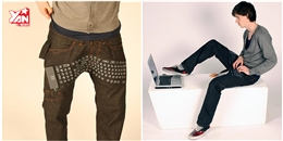 Độc đáo quần jean có thể làm bàn phím, chuột, USB cho máy tính