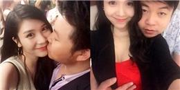 yan.vn - tin sao, ngôi sao - Quang Lê lại gây sốc khi đặt tay lên ngực bạn gái kém 11 tuổi
