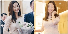 yan.vn - tin sao, ngôi sao - Kim Tae Hee rạng rỡ lần đầu tiên xuất hiện sau khi kết hôn