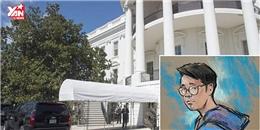 Nam thanh niên gốc Việt đột nhập vào Nhà Trắng, tự xưng bạn ông Trump