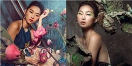 Hoa hậu Quỳnh Thy khác lạ trong hình tượng Á Đông cổ điển