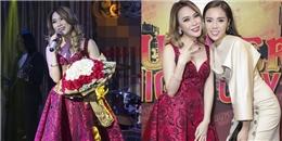 yan.vn - tin sao, ngôi sao - Hoa hậu Kỳ Duyên phấn khích khi được gặp thần tượng Mỹ Tâm
