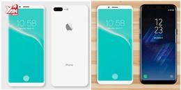 Mãn nhãn với iPhone 8 phiên bản Jet White đẹp không tì vết