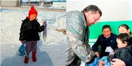 Bất chấp âm 24 độ C, bé gái 4 tuổi vượt gần chục km để cứu bà