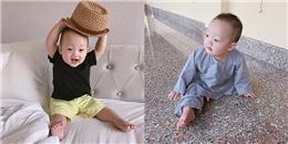 Gần tròn 1 tuổi, bé Khoai Tây ngày càng bụ bẫm, dễ thương như thế này!