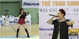"""yan.vn - tin sao, ngôi sao - Min, Tronie Ngô """"quậy"""" hết cỡ cùng hàng ngàn sinh viên"""