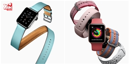 Apple Watch có thêm nhiều màu và mẫu dây đeo mới tuyệt đẹp