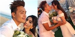 """yan.vn - tin sao, ngôi sao - Vợ chồng Kha Ly """"Cổng mặt trời"""" ngọt ngào kỷ niệm 1 năm ngày cưới"""