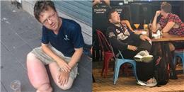 Gã ăn xin 'xuyên quốc gia' đến Sài Gòn: ăn nhà hàng, ngủ khách sạn
