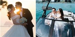 yan.vn - tin sao, ngôi sao - Ngắm trọn bộ ảnh cưới lung linh của vợ chồng MC Thành Trung trên biển