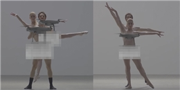 """""""Tròn mắt"""" với màn múa ballet khỏa thân độc đáo của đạo diễn Nhật Bản"""
