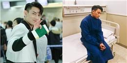 Xót xa hình ảnh Isaac phờ phạc vì kiệt sức phải nhập viện