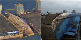 Lặng người với hình ảnh phà Sewol sau 3 năm chìm dưới đáy đại dương