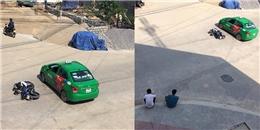 Ngưỡng mộ cách ứng xử văn minh của hai thanh niên va chạm xe