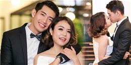 yan.vn - tin sao, ngôi sao - Quang Đăng say đắm hôn Thái Trinh giữa đông người