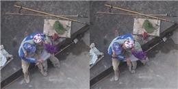 Khoảnh khắc tình cảm của hai công nhân sơn khiến ai nấy đều ấm lòng