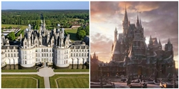 """Lâu đài trong """"Giai nhân và Quái vật"""" cũng là """"hàng có thật"""" luôn đấy!"""