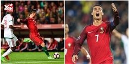 Ronaldo chơi thăng hoa, ghi 2 bàn xé nát lưới Hungary