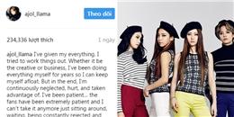 yan.vn - tin sao, ngôi sao - Amber viết tâm thư trách móc SM, fan F(x) lo lắng tương lai của nhóm