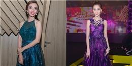 Diện váy yếm, 'Hoa hậu' Thu Trang khoe vẻ đẹp mặn mà bên Đặng Thu Thảo