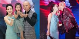 Phan Đinh Tùng hôn vợ say đắm trong ngày ra mắt album