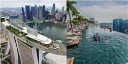 Hồ bơi vô cực đỉnh nhất thế giới bạn khó lòng ngó lơ khi đến Singapore