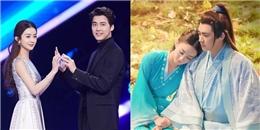 yan.vn - tin sao, ngôi sao - Triệu Lệ Dĩnh - Lý Dịch Phong: Lên sân khấu vẫn không quên
