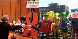 Lễ tốt nghiệp 'siêu cool' thế này chỉ có thể diễn ra ở Nhật Bản!
