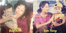 Ngày 8/3, nhìn lại loạt ảnh sao Việt và mẹ thuở thơ bé