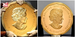 Trộm 'ôm nhẹ' đồng tiền vàng nặng 100 kg trong bảo tàng