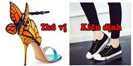 Đoán tính cách con gái cực chuẩn qua loại giày dép họ thường mang