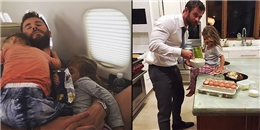 Không chỉ là một 'vị thần', Chris Hemsworth còn là 'ông bố của năm'