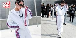 Clip Sơn Tùng quậy trên đường phố Seoul với set đồ đậm chất sporty guy