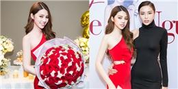 Kỳ Duyên ăn mặc kín đáo đến mừng tuổi mới của Jolie Nguyễn