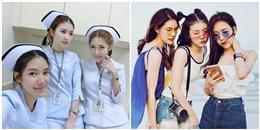 3 nàng y tá Thái Lan 'đẹp đều' khiến cư dân mạng chỉ muốn 'bị ốm'