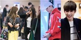 yan.vn - tin sao, ngôi sao - Apink và SEVENTEEN rạng rỡ tại sân bay Hàn khởi hành đến Việt Nam.
