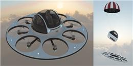 Độc đáo ý tưởng chế tạo tàu bay như UFO của người ngoài hành tinh