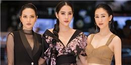 """Hà Thu, Diệu Linh chúc mừng Nam Em lần đầu """"lấn sân"""" điện ảnh"""