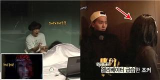 Bằng chứng sợ ma không thể chối cãi của các sao nam Kpop